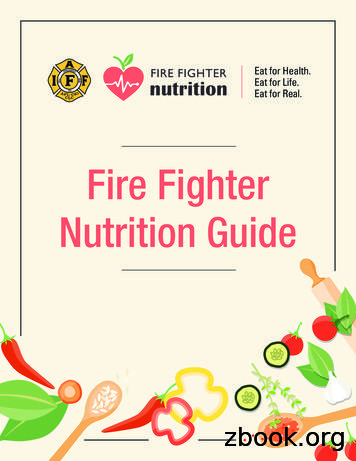 Fire Fighter Nutrition Guide - IAFF Main