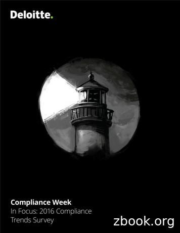 In Focus: 2016 Compliance Trends Survey
