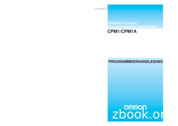 /CPM1A M1 P C PROGRAMMEER Programmeerbare besturingen .