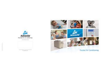 Actron Air Consumer Brochure - 0500-132 06-12 - Updated 12 .