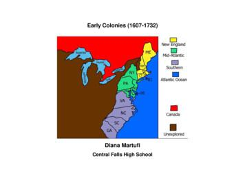 Early Colonies (1607-1732) - Weebly