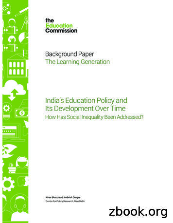 Background Paper The Learning Generation