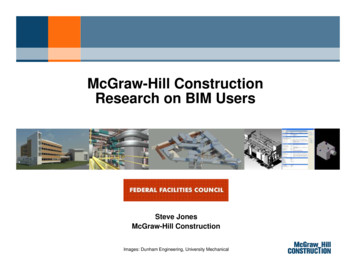 McGraw-Hill Construction Research on BIM Users