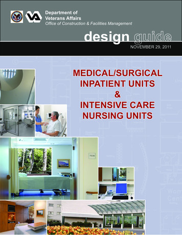 Medical/Surgical Inpatient Units & Intensive Care Nursing .