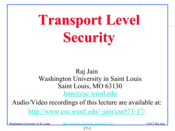 Transport Lavel Security