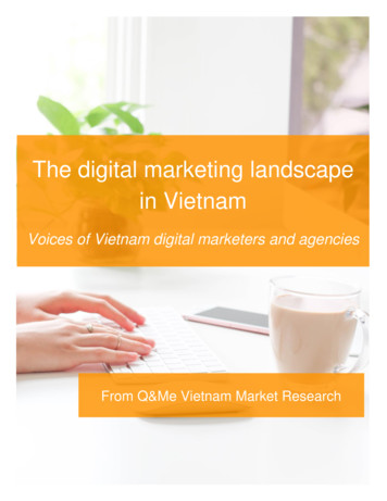 The digital marketing landscape in Vietnam