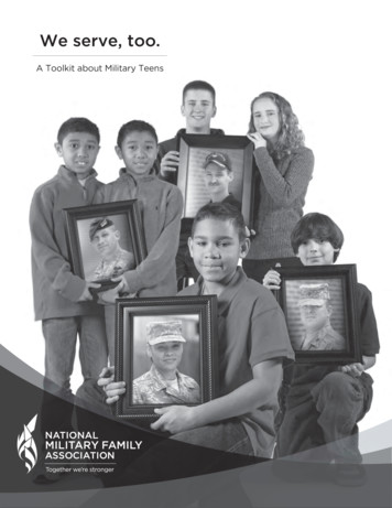A Toolkit about Military Teens