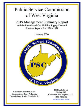 Public Service Commission of West Virginia