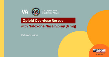 Opioid Overdose Rescue - Veterans Affairs