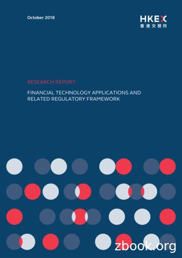 Financial technology applications and related regulatory .