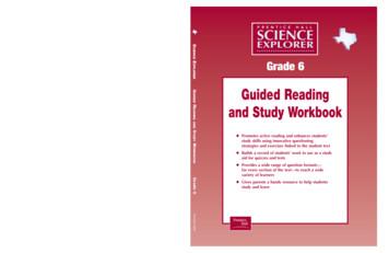 SCIENCE EXPLORER Grade 6 - Pearson Education