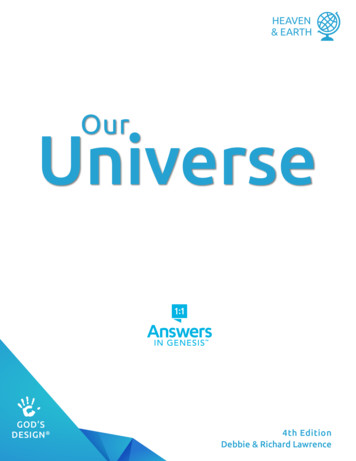 Our Universe - Answers in Genesis