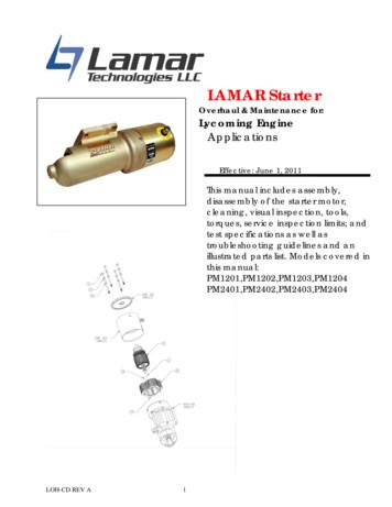 LAMAR Starter - Lamar Tech
