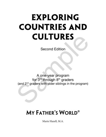 Exploring countries and Sample - My Father's World