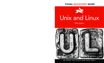 Learn the quick and easy way! Unix and Linux