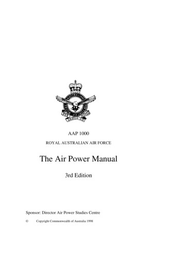 AAP 1000 - Air Power Dev Centre
