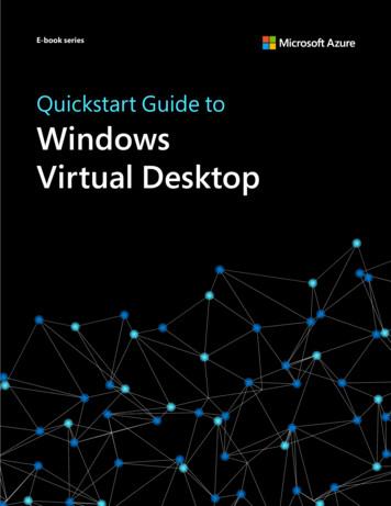 Quickstart Guide to Windows Virtual Desktop