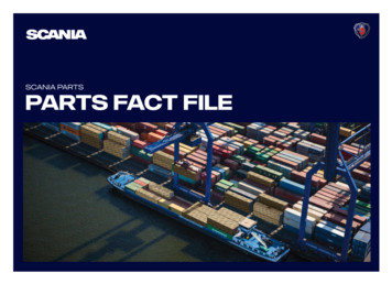 SCANIA Parts parts fact file