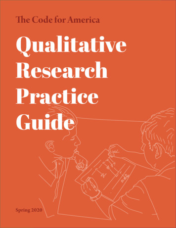 The Code for America Qualitative H&S § 11361.9 Research .