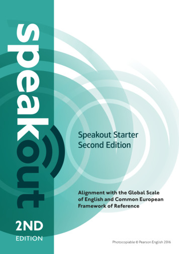 Speakout Starter Second Edition - Pearson