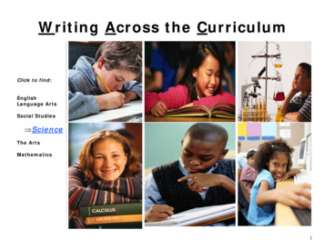 Writing Across the Curriculum - Michigan