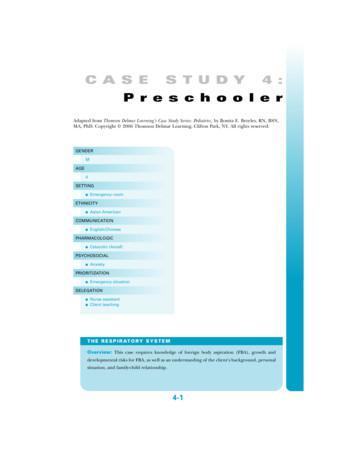 Case Study 01 Delmarlearning Free Download Pdf