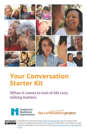 Your Conversation Starter Kit
