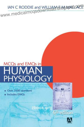 MCQs and EMQs in Human Physiology - Unbound