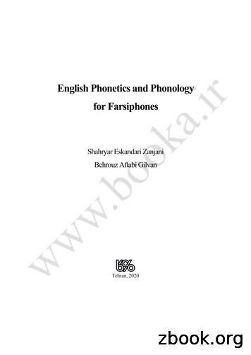 English Phonetics and Phonology for Farsiphones-Final