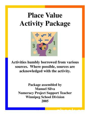 Place Value Activity Package - Mathematics Shed