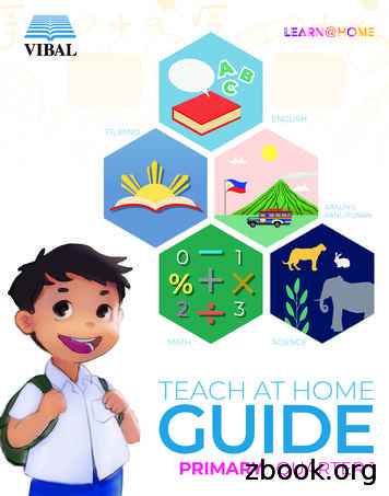 TEACH AT HOME GUIDE - PRIMARY - Vibal Group