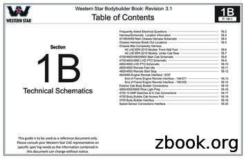 Harness/Schematic Location Information 1B-3 1B