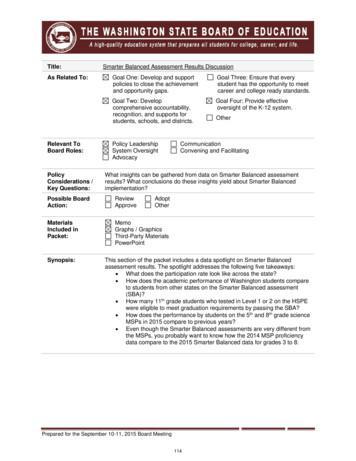 DATA - Washington State Board of Education