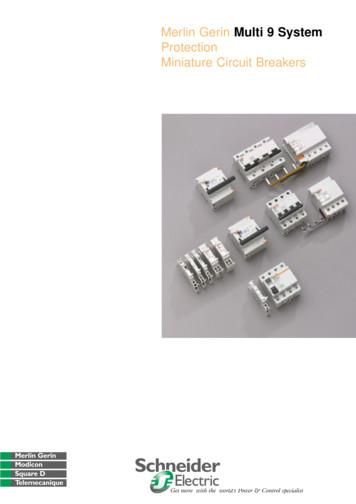 Merlin GerinMulti 9 System Protection Miniature Circuit .