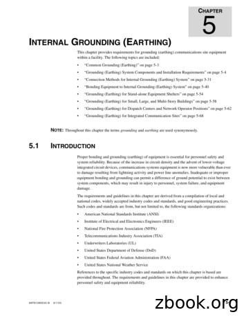 NTERNAL GROUNDING (EARTHING