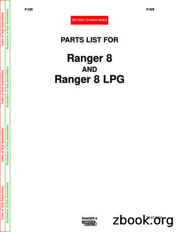 Ranger 8 - Joe's Welding