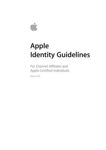 Apple Identity Guidelines