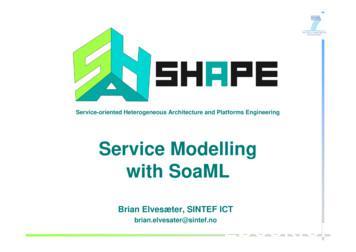 Service ModellingService Modelling with SoaML