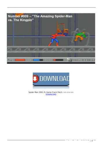 spider man 2001 pc game crack patch - WordPress